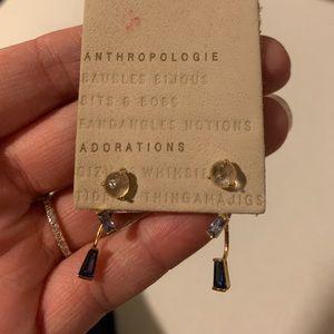 Anthro earrings (never worn)